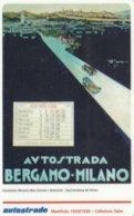VIACARD AUTOSTRADA BERGAMO-MILANO - Italia