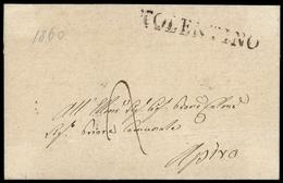 1860, Italien, Brief - Italië