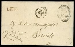 1862, Italien, Brief - Italië
