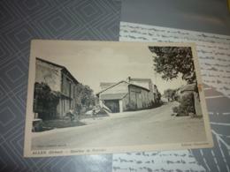 Carte Postale Drome Allex Qurtier De Barnais Enfants Velo - Francia
