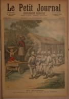 Le Petit Journal. 26 Novembre 1892. Au Dahomey. Les Fétiches De Kana. Invasion D'ours En Russie. - Boeken, Tijdschriften, Stripverhalen