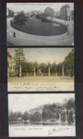3 Postkaarten Van BRUXELLES PLACE DU PETIT SABLON , SQUARE DE DEUX PONTS AV. DE LA REINE + MARIE - LOUISE ! - Avenues, Boulevards