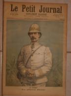 Le Petit Journal. 3 Décembre 1892. Au Dahomey. Le Général Dodds. Crémation Des Cadavres Dahoméens. - Boeken, Tijdschriften, Stripverhalen