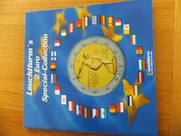 Leuchtturm Album NumismatiqueEuro Collection Pour Pièces De Monnaie De 2 Euros - Materiaal