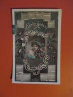 Carte BONNE ANNEE Et Son Calendrier De 1911_ Edition BELLONE 4072_FEMME Avec Fleurs - Año Nuevo