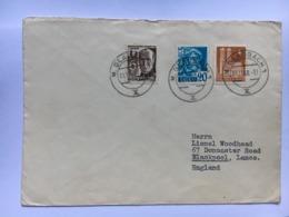 GERMANY 1948 Allied Cover Gladbach To Blackpool England - Französische Zone