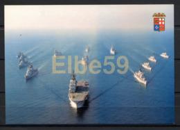 Marina Militare Italiana,  Formazione Navale Con La Portaerei Giuseppe Garibaldi, Nuova - Guerra