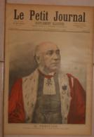 Le Petit Journal. 10 Décembre 1892. M. Périvier. Premier Président De La Cour D'Appel De Paris.Drapeau Français à Abomey - Boeken, Tijdschriften, Stripverhalen