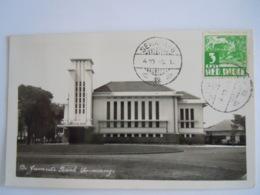 Indonesië Semarang De Javasche Bank Gelopen Circulée 1935 Timbre Yv 183 - Indonésie