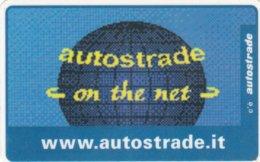 VIACARD AUTOSTRADE ON THE NET - Italia