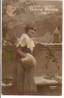 L55B083 - Bonne Année - Jeune Fille En Hiver - Furia N°1922 - New Year