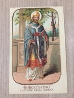 Santino S. Agostino Dottore Della Chiesa - Santini