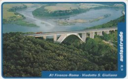 VIACARD AUTOSTRADE A1 FIRENZE-ROMA VIADOTTO S. GIULIANO - Italia