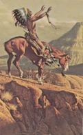 Indian Chief On Horse , 50-60s - Native Americans