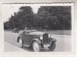 Oldtimers - Photo 6 X 8.5 Cm - Automobiles