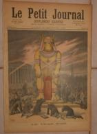 Le Petit Journal. 31 Décembre 1892. Le Veau D'or. Les étrennes Au Dahomey. - Boeken, Tijdschriften, Stripverhalen