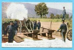 Militärkarte 1901 - Gestempelt Eidg. Militärschule Thun - Posta Militare