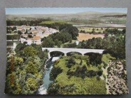 CP 11 Aude,en Avion Au Dessus De...  MIREPEISSET - Le Pont Dur La Cesse à L'entrée Du Village 1960 - Frankreich