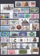 BRD - 1987 - Sammlung - Eckrand - Randstücke - Postfrisch - BRD