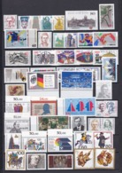 BRD - 1989 - Sammlung - Eckrand - Randstücke - Postfrisch - BRD
