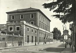 Ferrara (E. Romagna) Corso Giovecca, Arcispedale Sant'Anna, Giovecca Street, Rue Giovecca - Ferrara