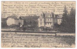 CPA Chatel Sur Moselle, Rive De La Moselle, Gel. 1914 - Chatel Sur Moselle