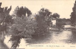 "CPA FRANCE 84 ""L'Isle Sur La Sorgue, Un Coin De La Sorgue"" - L'Isle Sur Sorgue"