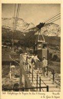 CPA - LAC D'ANNECY - TELEPHERIQUE DU VEYRIER - NACELLLE A LA GARE DE DEPART (IMPECCABLE) - Annecy