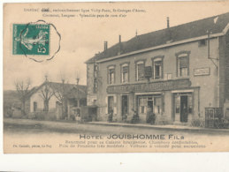 43 // DARSAC   Hotel JOUISHOMME   Embranchement Ligne Vichy Paris   St Georges D Aurac   Clermont  Langeac ** - France