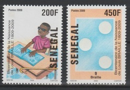Sénégal 2009 Mi. 2146 - 2147 Louis Braille Aveugles Blind - Senegal (1960-...)
