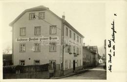 ** T1/T2 Imst (Tirol), Gasthaus-Pension Grüner Baum / Hotel - Francobolli