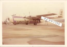 PHOTO AVION Armstrong Whitworth  650   ARGOSY SRS 101 6657   G-AZHN SAGITAIRE  12X8CM - Aviation