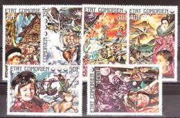 COMORES - 1976 - N° 145 à 149 + PA N° 107 - Neufs ** - Contes Pour Enfants - Komoren (1975-...)