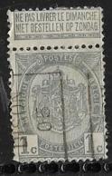 Dison 1905  Nr. 664A Vouw - Precancels