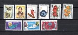 Chipre  ( Turquía )  1977-80  .-  Y&T Nº  41/42-52/53-57/58-61/63 - Chipre (Turquía)