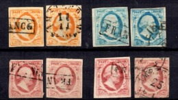 Pays-Bas YT N° 1/3 Oblitérés. B/TB. A Saisir! - Period 1852-1890 (Willem III)