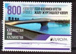Kazakhstan 822 Europa 2018 Neuf ** TB MNH Sin Charnela - 2018