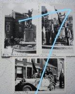 Photox6 COURT SAINT ETIENNE Villers La Ville Fêtes De La Libération 8 Mai 1945 Bevrijding Guerre - Lieux