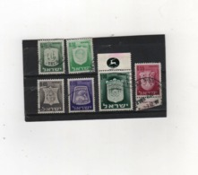 ISRAEL   1960-69  Y.T. N° 273  à  285  Incomplet  Oblitéré - Israel