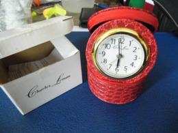 Reveil  Et Boite à Bijoux  - Charles Léman - - Alarm Clocks