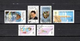 Chipre  ( Turquía )  1988-89  .-  Y&T Nº  205-212-222-225-226/227 - Chipre (Turquía)