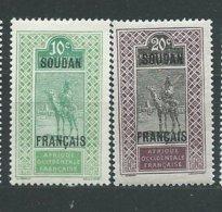 SOUDAN N° 24+26  ** TB  2 - Sudan (1894-1902)
