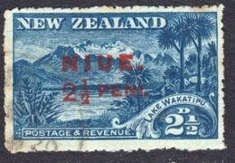 Niue 1915 Watermarked 2 1/2 D SG20 - Used - Niue
