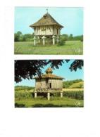 Lot 2 Cpm - Dans Nos Campagnes - Un Beau Pigeonnier - N.6363 - 6234 Cely - Architectuur