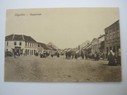 Jagodina , Karte Um 1915 - Serbia