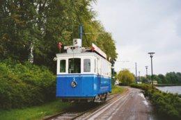 Marquette (59) 9 Mai 2004 - Tramway Touristique De  La Vallée De La Deûle - Motrice N°5 De 1900 (Ex. T.F. Fribourg) - Tranvía
