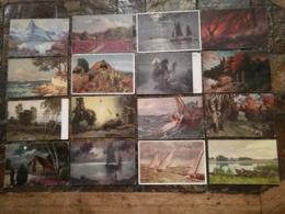 Lot 120 Cpa ( 96 En Scan)  Art  Peinture  Repro Tableaux....... - Cartes Postales