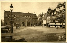 CPA - BESANCON - PLACE DU 4 SEPTEMBRE - HOTEL DE VILLE - Besancon
