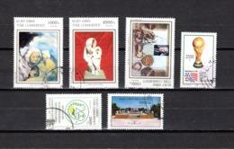Chipre  ( Turquía )  1994  .-  Y&T Nº  341/342-343-345-347/348 - Chipre (Turquía)