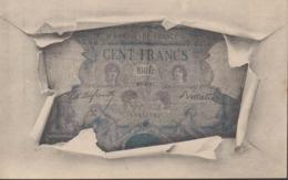 REPRESENTATION BILLET DE CENT FRANCS - Monete (rappresentazioni)